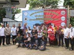 AGEN PERUBAHAN: Tim dari Kementerian, Unicef, Pemprov Jateng, dan Yayasan Setara mengunjungi SMP 17.