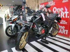 SPORT : Salah satu motor sport andalan Honda dalam memenuhi permintaan pasar yang menyukai motor sport. Dok/Jateng Pos