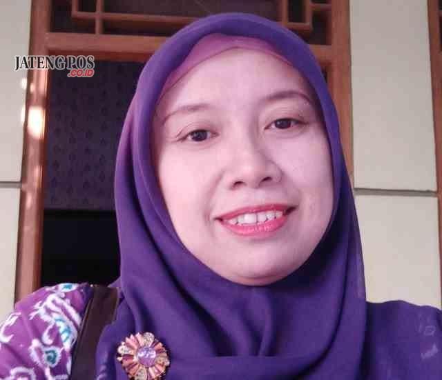 Juwita Aris Mintarmi,S.Pd Guru SMP Negeri 1 Grobogan