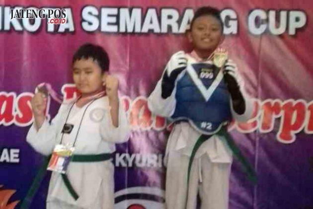 ANAK JUARA: SD Negeri Pendrikan Lor 03: Ananda Ricky IIyasa meraih medali Emas dalam Kejuaraan Taekwondo Kota Semarang Cup 2018. Generasi Berani Berprestasi.Salam PPK.