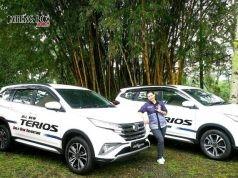 GAGAH - Produk terbaru Daihatsu, All New Terios, kini tampil lebih gagah dengan berbagai pembaruan dari tipe sebelumnya. FOTO : ANING KARINDRA/JATENG POS