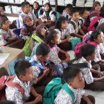 MEMBACA: Kegiatan literasi SDN Tugurejo 03 untuk menumbuhkan gemar membaca di kalangan siswa. Salam PPK.