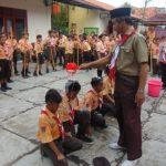 PERJUSA HEBAT: Kegiatan Perjusa di SDN Bangunharjo untuk memperkuat pendidikan karakter pada siswa. Pramuak hebat.
