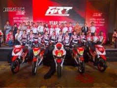 Para pembalap Astra Motor Ricing Team (ART) akan tampil maksimal dan siap juara musim balap ini.