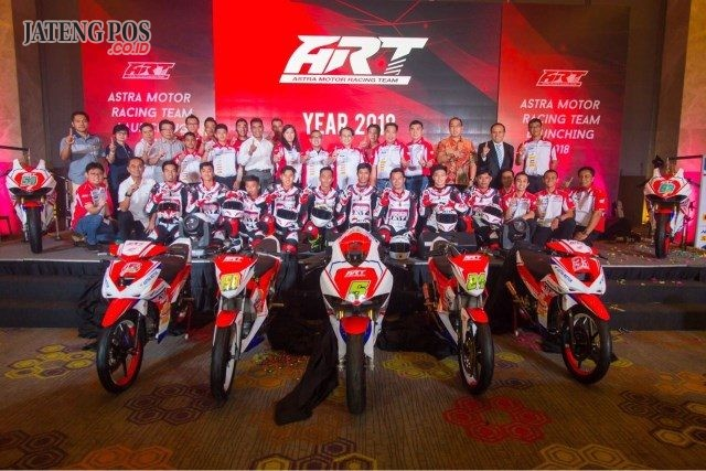 Astra Motor Racing Team Siap Rajai Musim Balap 2018 Jateng Pos