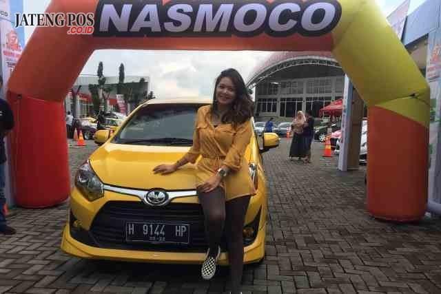 """NASMOCO FESTIVAL - Beragam program promo menarik diberikan dalam """"Nasmoco Festival"""", yang berlangsung di Rest Area Tol Semarang – Ungaran KM 22, Sabtu (10/3). FOTO : ANING KARINDRA/JATENG POS"""