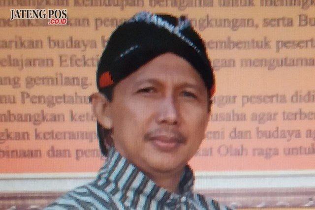Drs. FA. Suprapto Mukti Nugroho, M.Pd. Guru SMP 6 Temanggung