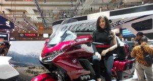Big Bike Honda Gold Wing di bandrol dengan harga Rp1,01Milyar untuk daerah Jakarta .