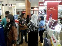ELEKTRONIK : Global elektronik kembali akan menggelar pameran guna menangkap peluang pasar pada Ramadhan dan Lebaran 2018.