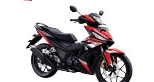Varian baru New Honda Supra GTR150 Exclusive Matte Red