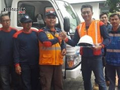 ELAWAN PLN- Tim relawan PLN UID Jawa Tengah & DIY kloter pertama turut andil dalam pemulihan lokasi terdampak bencana di Sulawesi Tengah. FOTO : ANING KARINDRA/JATENG POS