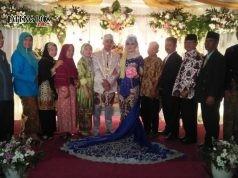 rosesi pernikahan pasangan Aulia-Joko disaksikan keluarga MTA. Foto: ARI SUSANTO/JATENGPOS