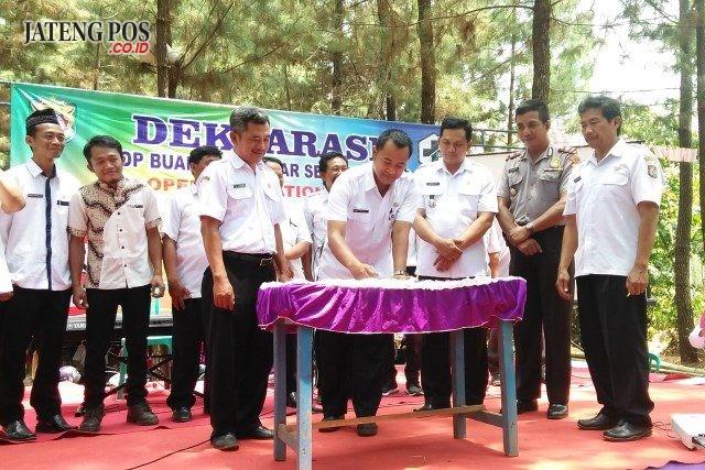 12 Desa di Kecamatan Plantungan Deklarasi Bebas ODF