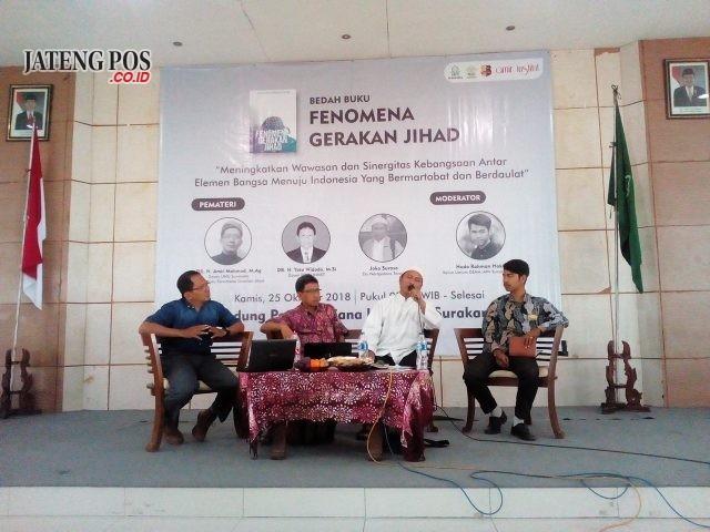 Seminar Buku Fenomena Gerakan Jihad Mahasiswa IAIN Ikrar Anti Radikalisme