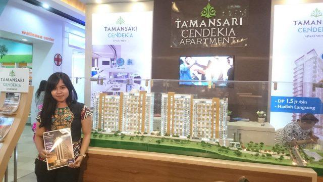 PAMERAN PROPERTI- Sebanyak 13 pengembang perumahan turut meramaikan Properti Expo Semarang ke-9 yang digelar di Mall Ciputra mulai 9-20 November 2018. FOTO : ANING KARINDRA/JATENG POS