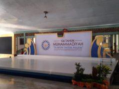 Pura Mangkunegaran venue Milad 106 Muhammadiyah.