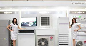 AC INVERTER- PT. LG Electronics Indonesia untuk terus melakukan penetrasi pada AC inverter yang mampu hemat listrik. FOTO : IST/ANING KARINDRA/JATENG POS