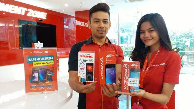 TERJANGKAU : Smartfren menghadirkan smartphone dengan harga terjangkau FOTO : IST/ANING KARINDRA/JATENG POS