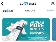 GO-BILLS- Layanan pembayaran gas bumi PGN melalui Go-Bills di aplikasi Go-Jek. Pelanggan PGN dapat melakukan transaksi pembayaran tagihan gas bumi melalui aplikasi ini dengan mudah. FOTO : IST/ANING KARINDRA/JATENG POS