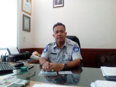 Kepala Perwakilan Jasa Raharja Wilayah Sukoharjo, H. Totok Ery Sukamto. Foto: ade ujianingsih/jatengpos.