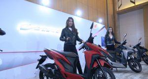 PASAR EKSPOR : Produk sepeda motor Honda Vario semakin melonjak di pasaran hingga dikirim ke Negara tetangga.