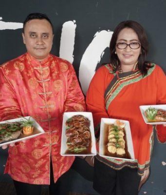 MENU SPESIAL IMLEK : Ragam menu Chinese Creation warnai perayaan Imlek 2019 di Aston Inn Hotel Pandanaran Semarang. Foto : PRAST WD/JATENG POS.