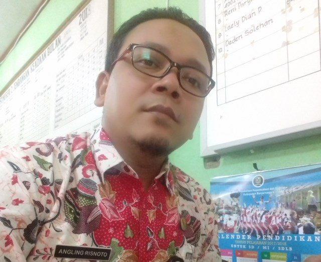 Angling Risnoto, S.Pd.SD. SD Negeri 2 Jembangan – Banjarnegara