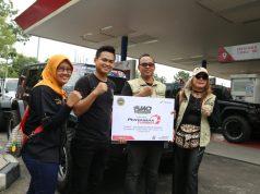 PERTAMAX TURBO: Jeep Wrangler Owners Semarang menjajal keunggulan Pertamax Turbo dengan kegiatan Touring sambil menikmati keindahan alam Gunung Muria dan Perkebunan Teh Jolong, Sabtu (23/3).