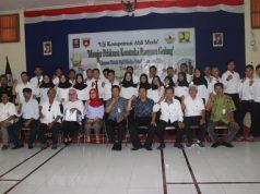 SRTIFIKASI: Siswa jurusan teknik sipil Universitas Tidar Magelang sedang mengikuti serti¿ kasi uji Kompetensi Ahli Muda yang diselenggarakan oleh DPD ATAPI Jateng bersama Balai Jasa Kontruksi Jateng.