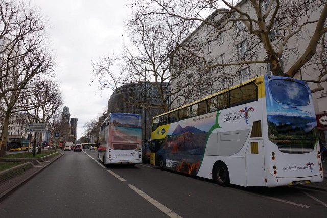 ITB Berlin 2019, Bus-Bus Wonderful Indonesia Kuasai Ibu Kota Jerman