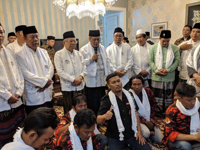 Absolut, Ulama dan Jawara Betawi se-Jaksel Dukung Paslon 01 Kyai Maruf Amin
