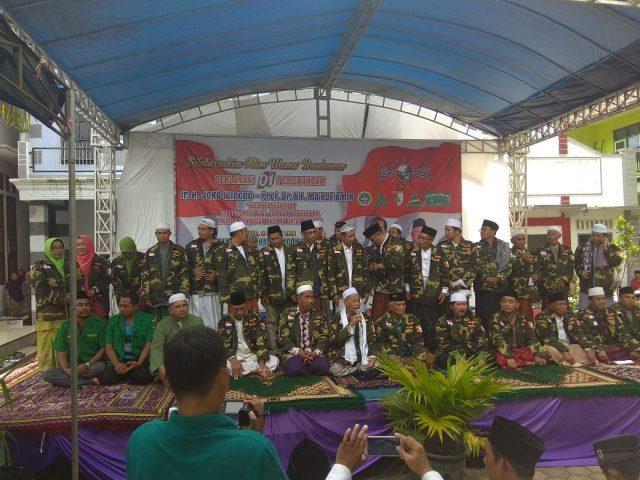 Ulama NU Bondowoso Berikrar Menangkan Jokowi-KMA