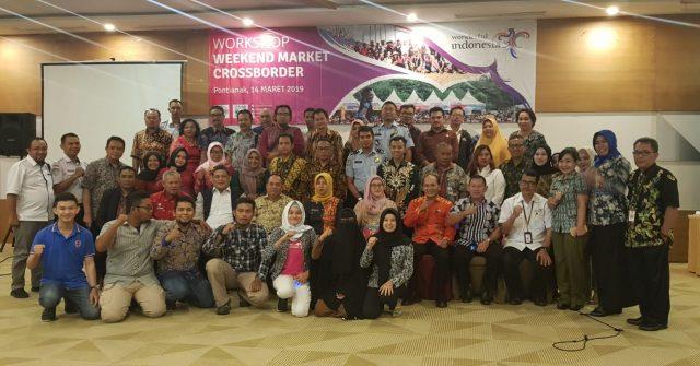 Misi Mulia Kemenpar di Weekend Market Crossborder untuk Masyarakat Perbatasan