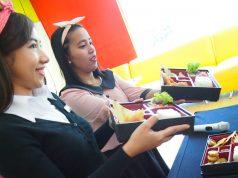 MENU PRAKTIS: Bento Box menu siap saji ala Jepang, siap memenuhi kebutuhan kulinari tamu menginap dan berkunjung Ibis Hotel Simpang Lima Semarang.