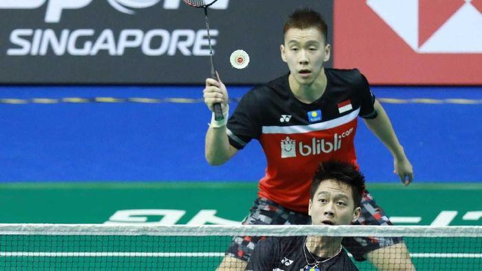 Kalahkan Keigo-Takeshi, Minions Lolos ke Final Badminton
