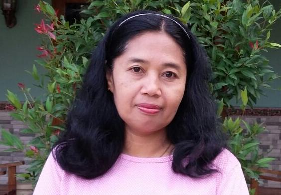 Sri Satuhu Bekti,S.Pd. Guru Bahasa Indonesia SMPN 1 Slogohimo, Wonogiri