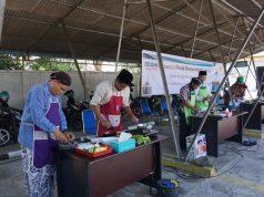 KOMPOR INDUKSI - Sejumlah peserta menggunakan kompor induksi dalam lomba memasak Hari Kartini di lingkungan PT PLN (Persero) UP2D Jawa Tengah dan DI Yogyakarta.