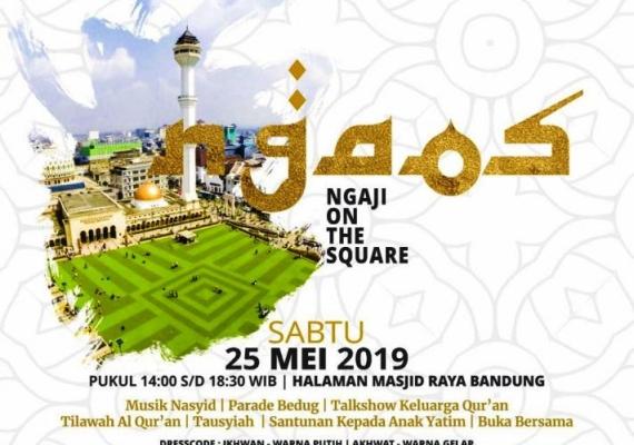 Yuk Ikut Hebohkan Ramadan dengan Ngaos di Masjid Raya Bandung