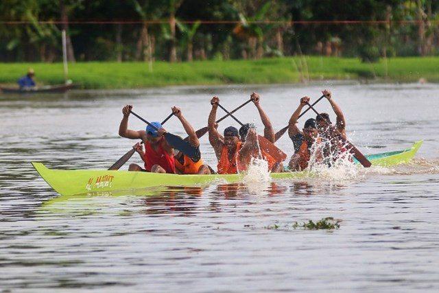 Lomba Balap Jukung Perkenalkan Wisata Susur Sungai Kahayan