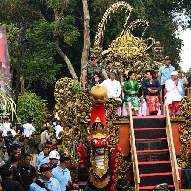Presiden Jokowi Bakal Membuka Dan Ikut Pawai Pesta