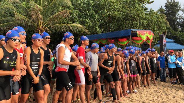 Seru, Sungailiat Triathlon 2019 Diwarnai Aksi dan Parade Budaya