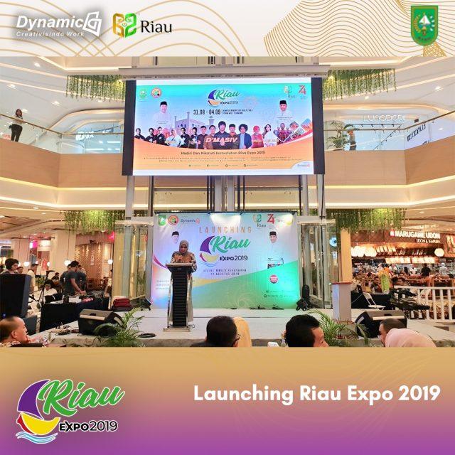 Pemprov Riau Launching Riau Expo 2019