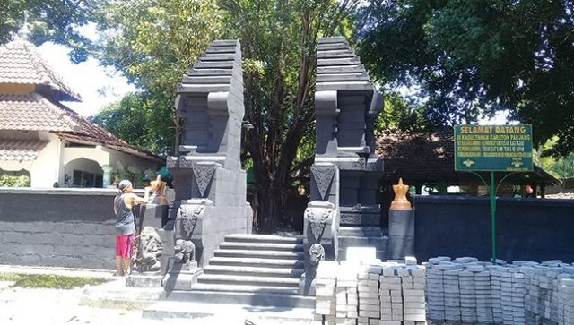 SEBATAS BUDAYA: Situs Keraton Pajang di Makamhaji, Kecamatan Kartasura, Sukoharjo, sudah berdiri 12 tahun silam.