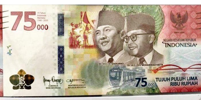 BI Tegaskan Uang Rupiah Khusus Rp 75.000 Bukan Bentuk ...
