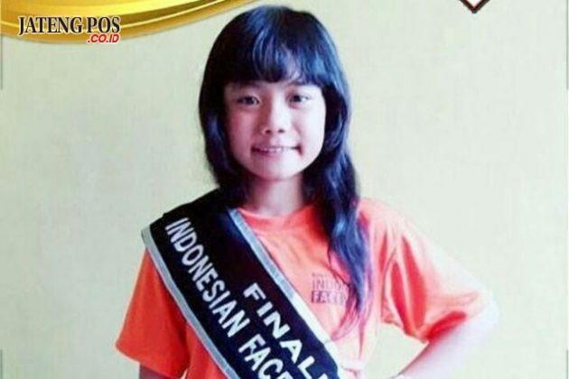 FACE MODEL: Bpk/Ibu mohon doa dan Like. Foto LARASATI P. Siswa SDN Rowosari 01 yang maju Grand Final Indonesia Face Model di Jakarta tgl 14 sd 17. Februari 2018. Matur suwun. Anak hebat.