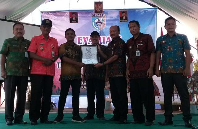 OPTIMISTIS JUARA: Desa Mlaten Kecamatan Mijen siap wakili Pemerintah Kabupaten (Pemkab) Demak dalam ajang lomba desa tingkat Provinsi Jawa Tengah tahun 2019.