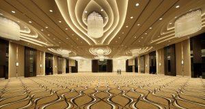 LENGKAP MODERN: Grand Ballroom, salah satu fasilitas luas, lengkap dan modern PO Hotel Semarang.