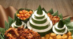 MENU PROMO: Nasi Tampah menjadi anadalan menu promo pada Hari Kemerdekan yang disajikan PO Hotel Semarang.