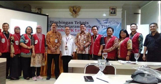 PELATIHAN : Guru lintas mata pelajaran (mapel) di Jawa Tengah, selama tiga hari, mulai Kamis-Sabtu(19-21/9) melaksanakan kegiatan Pembelajaran berbasis Teknologi Informasi dan Komunikasi (PembaTIK) di Hotel C3 Ungaran,Kabupaten Semarang.