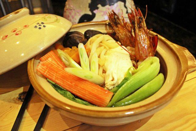 MENU BARU: Salah satu menu baru ' Nebayaki Udon ' siap menggoyang lidah pelanggan dan tamu berkunjung PO Hotel Semarang.